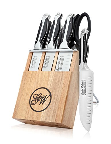 Gunter Wilhelm: Executive Chef Series Model GW503 - Exclusive - 7 Piece Mini Cutlery Knife Set Black Handels