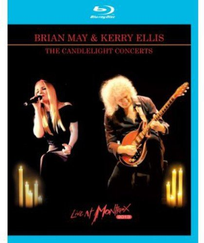 Blu-ray : Brian May - The Candelight Concerts Live At Montreux 2013 (With CD, 2 Disc)