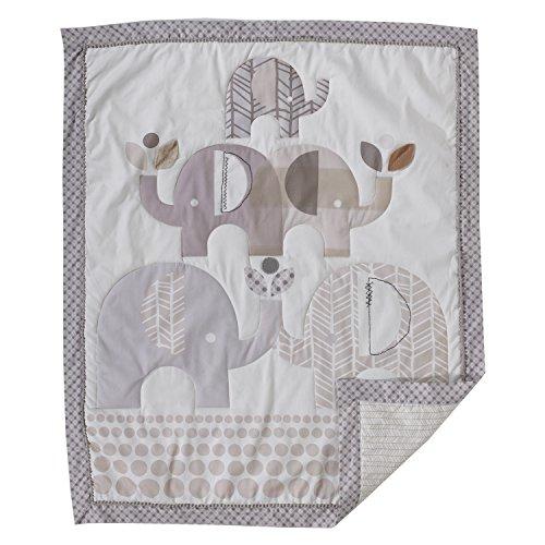 Applique Crib Quilt - Lolli Living Naturi Baby / Toddler Quilt