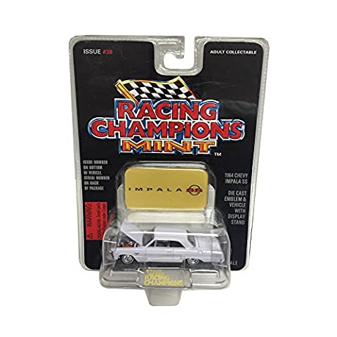 Racing Champions Mint Edition 1964 Chevy Impala SS Issue #38 Die-Cast Collectibles Car 1:64 Scale