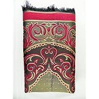 International Goods Depot Muslim Pray Rug Namaz Sajadah Mat Series (Tahfta Red 42 x 25)