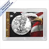2018 American Silver Eagle in (Bald Eagle Harris Gift Holder) $1 US Mint Brilliant Uncirculated