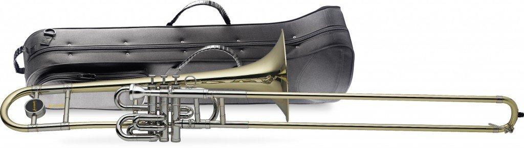 Levante LV-TB4955 Bb Piston Slide Trombone with Case
