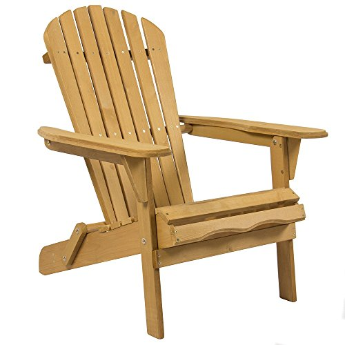 Vintage Style Modern Wood Chair Foldable Furniture Patio Lawn Deck Garden Outdoor Adirondack For Garden Outdoor (Argos Patio Furniture)