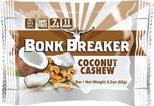 2 x Bonk Breaker Coconut Cashew (2 Boxes (24 Bars)) by Bonk Breaker (Image #1)