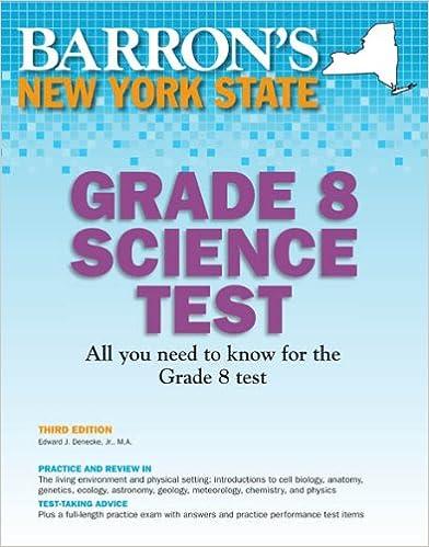Amazon.com: Barron's New York State Grade 8 Science Test, 3rd ...