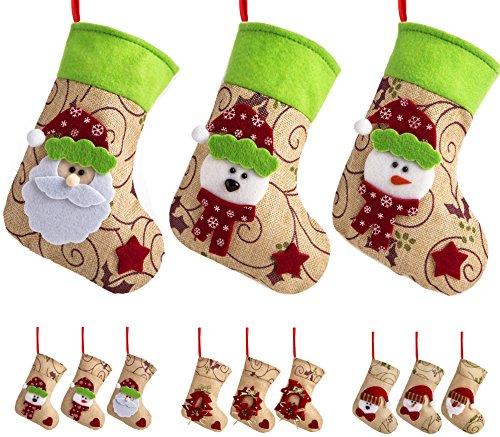 Green Santa Ornament - 5