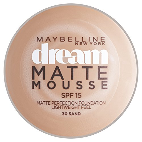 Maybelline New York Dream Matte Mousse Foundation Sand (030) ()