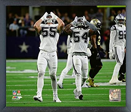 8c472576 Amazon.com: Leighton Vander Esch & Jaylon Smith Dallas Cowboys 2018 Action  Photo (Size: 17