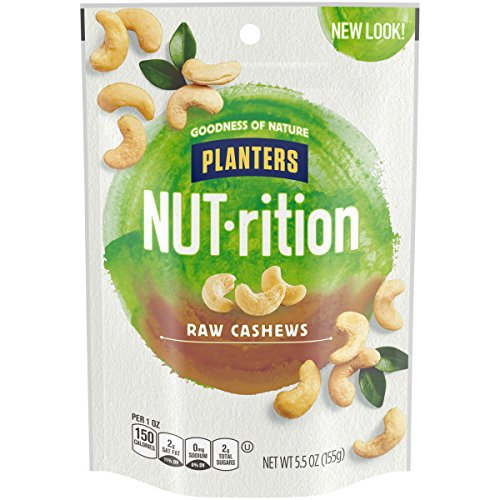 Planters Raw Cashews Unsalted Ounce