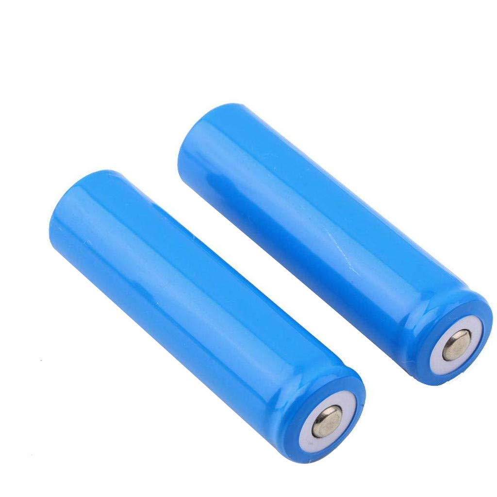 2PCS 2PCS//4PCS Batteries,18650 5000mAh 3.7V Rechargeable Battery Button top for LED Torch Flashlight Toy More