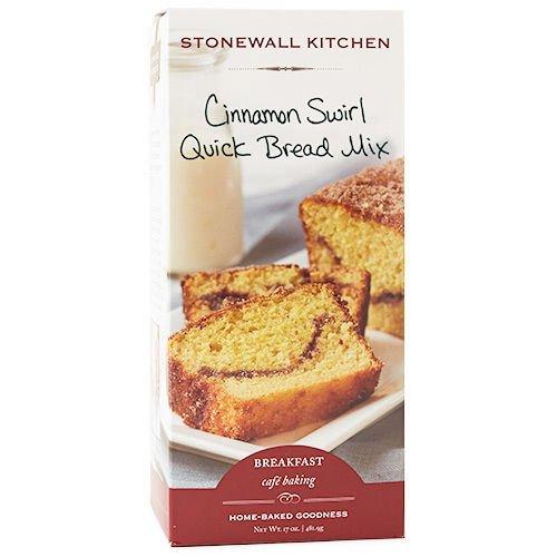 Stonewall Kitchen Cinnamon Swirl Quick Bread Mix, 17 oz