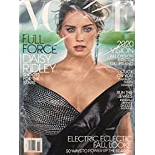 Vogue Magazine (November, 2017) Daisy Ridley Cover