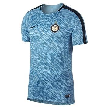 Nike Men s Inter M Nk Dry Sqd Ss Gx Short Sleeve Top  Amazon.co.uk ... f61dad74efb6