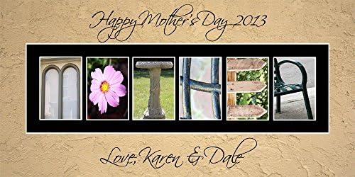 Amazon.com: Personalizado Arte – Madre Cumpleaños Día de la ...