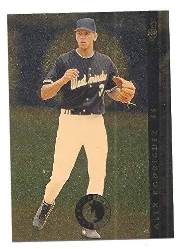 Alex Rodriguez 1993 94 Classic Images Four Sport Sudden