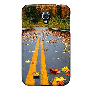 Flexible Tpu Back Case Cover For Galaxy S4 - Road