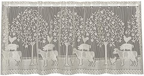 Heritage Lace Natural Farmhouse 60 x30 Tier