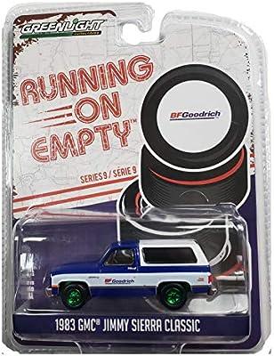 Greenlight Running on Empty BF Goodrich 1983 GMC Jimmy Sierra 1:64 SC 41090-F