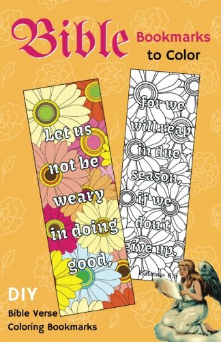 Bible Bookmarks to Color: DIY Bible Verse Coloring