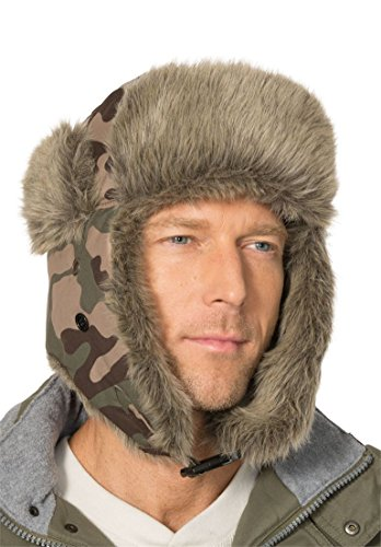 Olive Camouflage Hat - 6