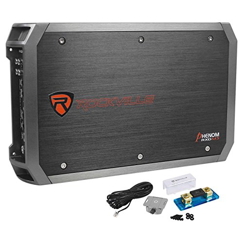 - Rockville RXD-M3 4000 Watt/2000w RMS Mono Class D 1 Ohm Amplifier Car Stereo Amp