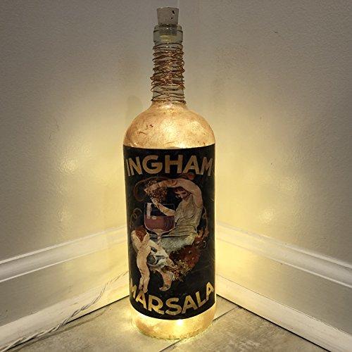 Art Nouveau Wine Label Lamp (Nouveau Wine)