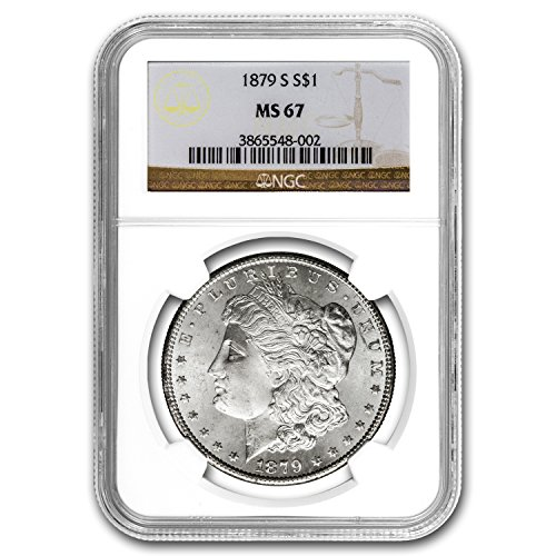 1879 S Morgan Dollar MS-67 NGC Dollar MS-67 NGC