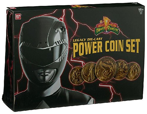 Power Rangers Legacy Diecast Coin Set Power Rangers Collectables