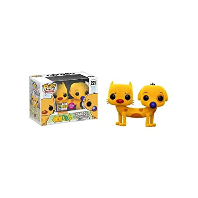 Funko 15102–Cat Dog Pop Vinyl Figure 221Flocked SDCC Summer Convention Exclusives: Toys & Games