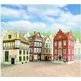 """aue-verlag 6x 6x 9cm modèle """"Les Old Town Kit (Lot de 4)"""