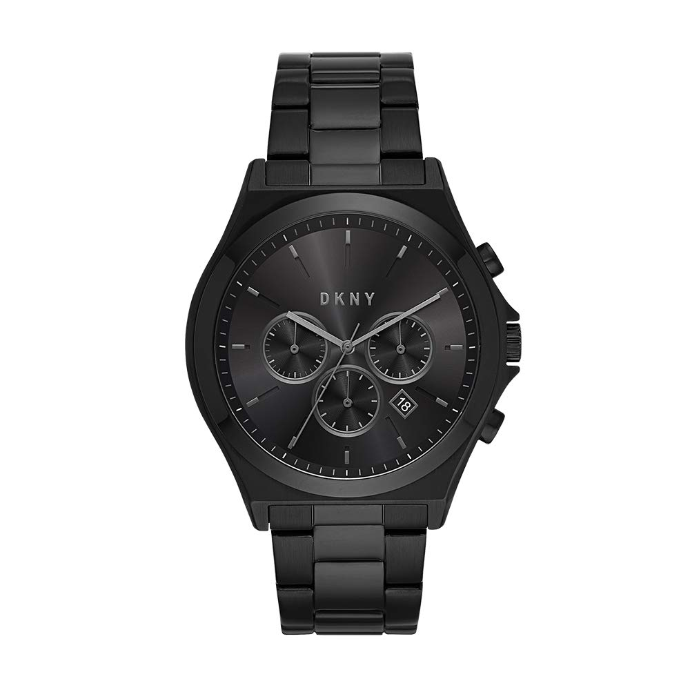 DKNY Men s Parsons Quartz Watch with Stainless-Steel Strap