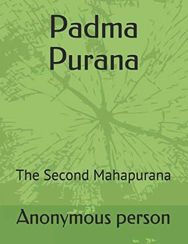 Padma Purana: The Second Mahapurana pdf