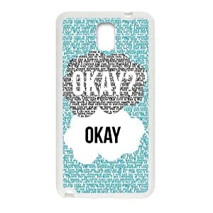 Season.C-Custom The Fault In Our Stars Back For SamSung Note 3 Case Cover (White)