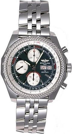 Custom Breitling For Bentley Gt A13362 Diamond Bezel Watch Amazon