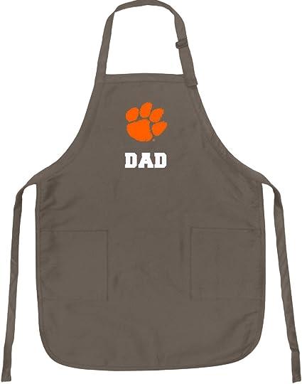 Broad Bay Clemson Dad Apron Large Mens Clemson University Dad Logo Gift Idea