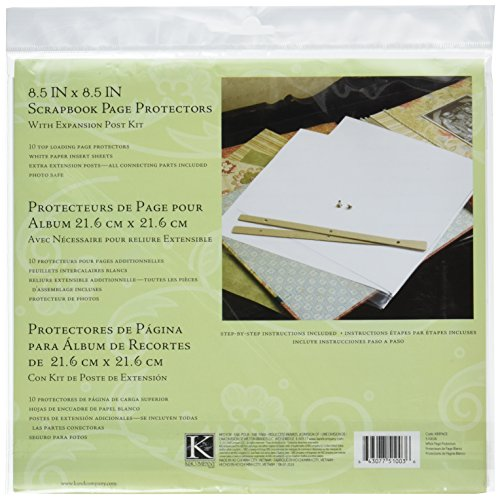 [K&Company Refill Page Kit for 8-1/2-by-8-1/2-Inch Scrapbooks] (Scrapbook Refill Kit)