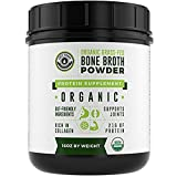 blender beef - Organic Grass Fed Beef Bone Broth Protein Powder - 16oz, 20 Servings. Unflavoured, Pure. Keto Friendly Protein Powder. Paleo, USDA Certified Organic, Left Coast Performance