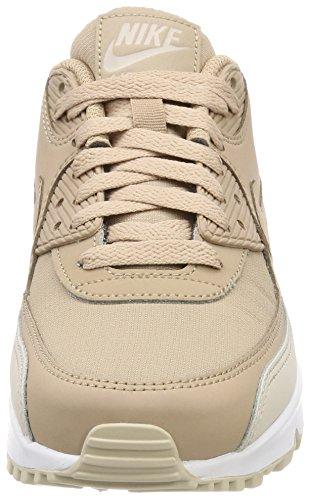 Nike Herren Air Max 90 Essenziale Basso-alto, Beige Medio (deserto Sabbia / Sabbia / Bianco 087)