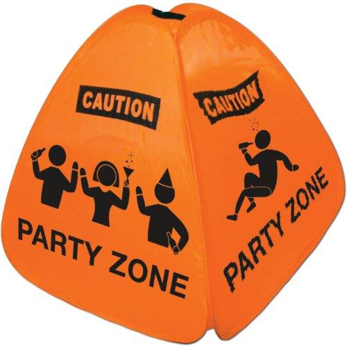 Wet Floor Sign Halloween Costume (Party Zone Floor Sign Party Accessory (1 count))