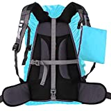 ZM-SPORTS 15-90L Upgraded Waterproof Backpack Rain Cover,with Vertical Adjustable Fixed Strap Avoid to Falling,Gift with Portable Storage Pack