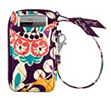 Vera Bradley All in One Wristlet (Plum Crazy), Bags Central