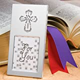 Wedding Favor Picture Frames: Shining Cross, 40