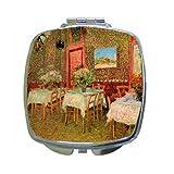 Interior Of A Restaurant By Vincent Van Gogh Compact Mirror