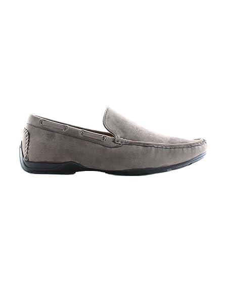 Elong Mocassin bateau homme  001 Gris Gris - Chaussures Mocassins Homme