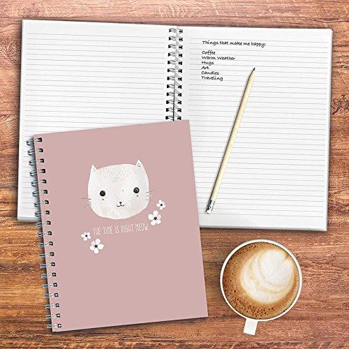 TF Publishing 99-6010 Pretty Kitty Journal 7 x 9 in.
