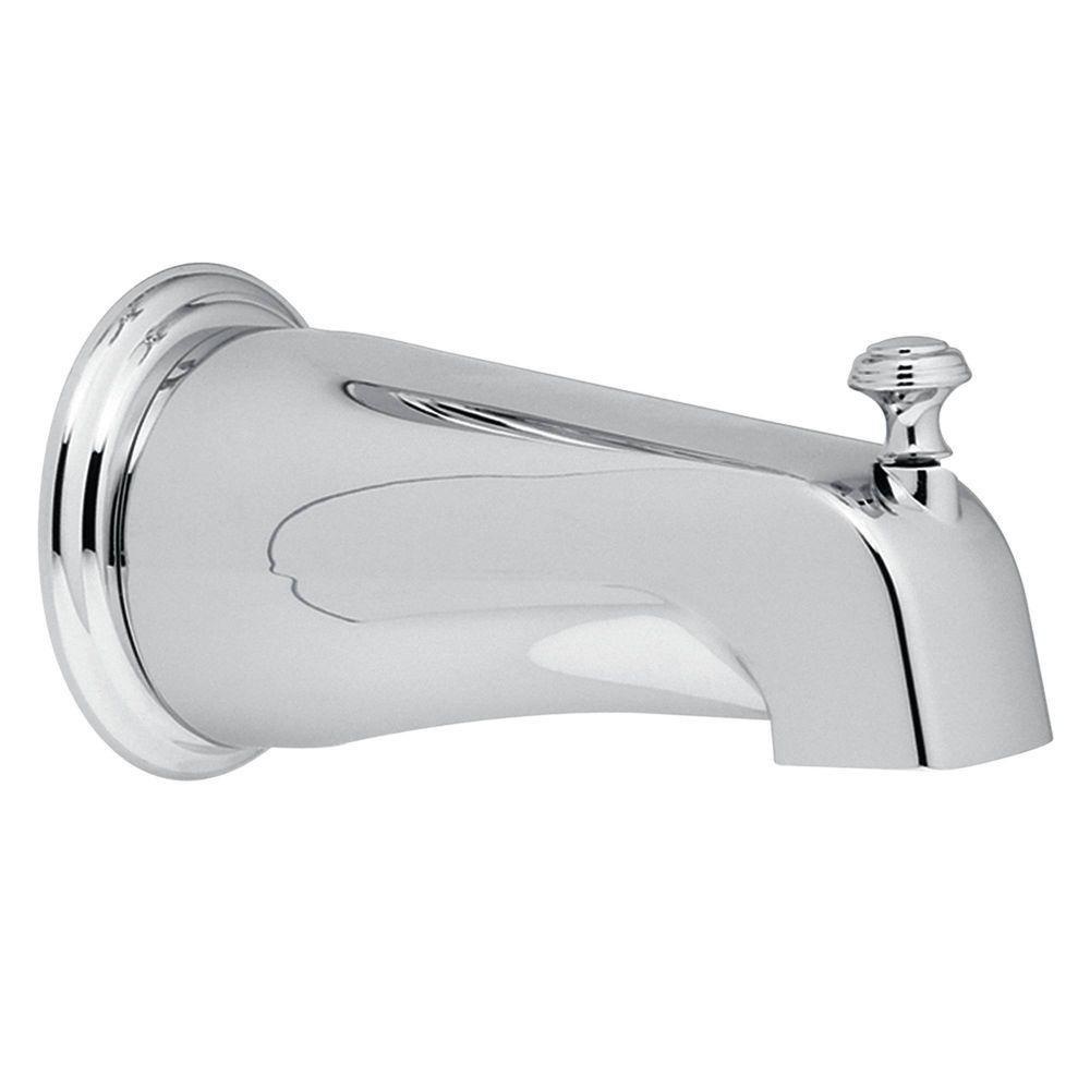 Moen 3808AN Monticello Diverter Tub Spout, Antique Nickel - Faucet ...