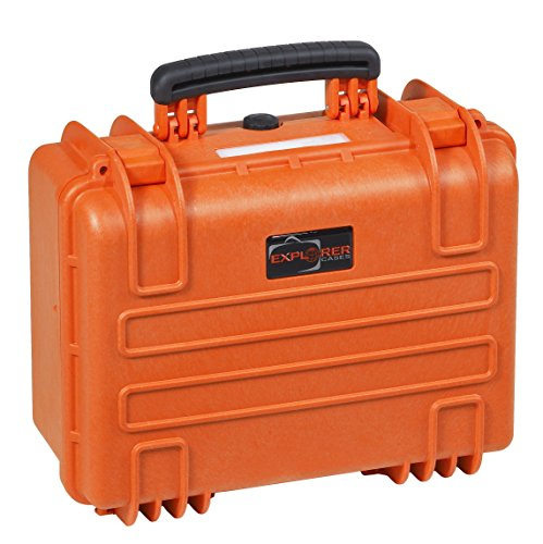 Explorer Cases 3818 O Waterproof Dustproof Multi-Purpose Protective Case with Foam, Orange by Explorer Cases