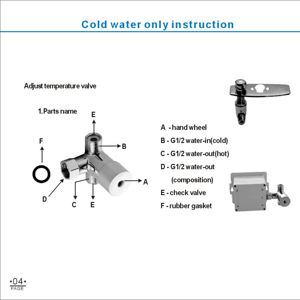 Flameer Temperature Sensor Led Light Basin Faucet Automatic Bathroom Helicopter Parts Diagram Kitchen Mixer Taps Waterfall