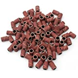 Sand Drum Bands Sanding Bands Sand Drum Grit For Nail Drill Manicure Tools 100PC